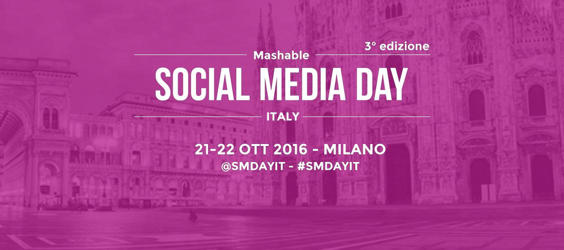 Mashable Social Media Day Italy 2016