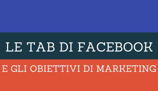 Pagina Facebook: il modello e le Tab